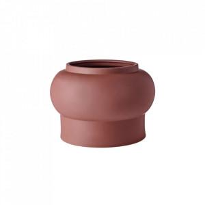 Ghiveci maro din ceramica 19 cm Totem Round Bolia
