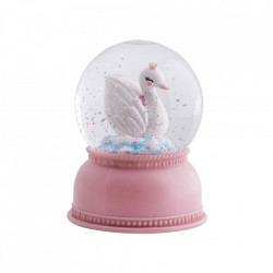 Glob decorativ multicolor din plastic acrilic 14 cm Swan A Little Lovely Company