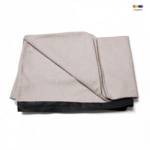 Husa bej din textil pentru tablie pat 90 cm Lydia Beige La Forma