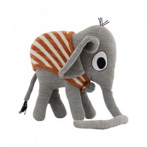 Jucarie gri din bumbac Henry Elephant Oyoy