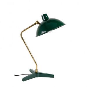 Lampa birou alama si metal verde Devi Green Dutchbone