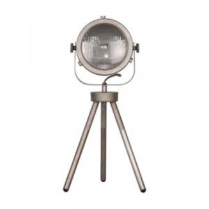 Lampa birou gri din metal si sticla 60 cm Tuk-Tuk LABEL51