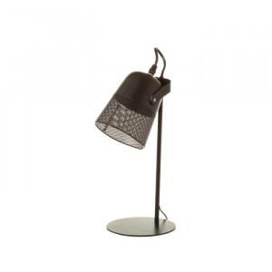 Lampa birou neagra din fier Olana Black Unimasa