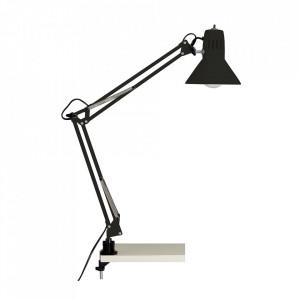 Lampa birou neagra din metal 70 cm Hobby Brilliant