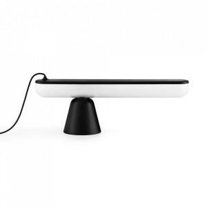Lampa birou neagra din plastic acrilic cu LED 16 cm Acrobat Normann Copenhagen