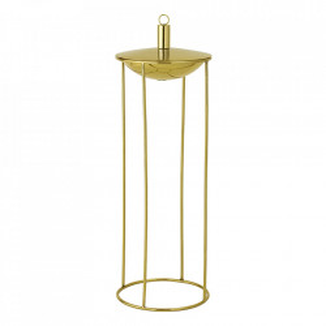 Lampa cu ulei aurie din inox si alama 57 cm Layla Bloomingville