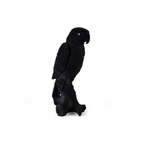 Lampa de veghe neagra din rasina Feeling Tropical Black Bold Monkey