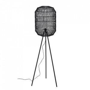 Lampadar negru din fier si hartie 160 cm Lukwati Bloomingville