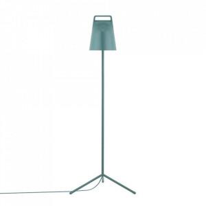 Lampadar verde petrol din metal cu LED 122 cm Stage Normann Copenhagen