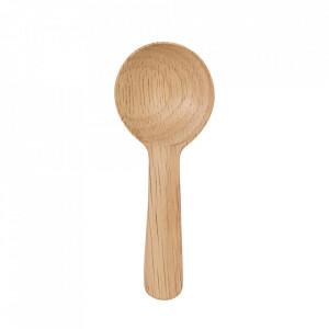 Lingura maro din lemn Freya Bloomingville