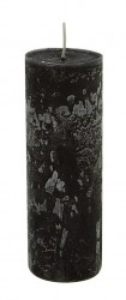 Lumanare neagra din parafina si ceara 20 cm Bernard LifeStyle Home Collection