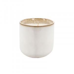 Lumanare parfumata cu suport din ceramica 9 cm Sage Tea Lifestyle Home Collection