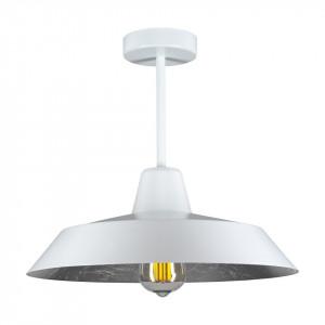 Lustra alba/argintie din otel si aluminiu Cinco Silver Small Bulb Attack