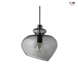 Lustra gri din sticla Grace Large Frandsen Lighting