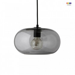 Lustra gri din sticla Kobe Frandsen Lighting