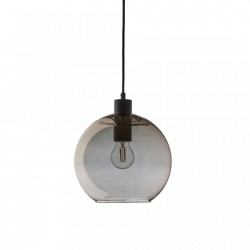 Lustra gri din sticla Kyoto Round Frandsen Lighting
