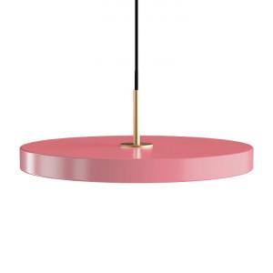 Lustra roz/aurie din otel si aluminiu Asteria Umage