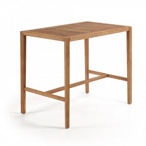 Masa bar din lemn eucalipt 130x80 cm Cybille La Forma