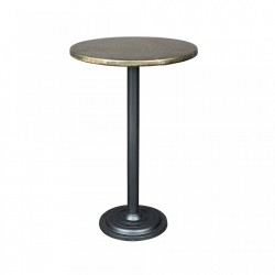 Masa bar rotunda din metal 60 cm Ewan White Label