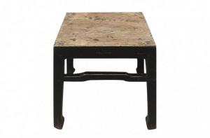 Masa cafea neagra din lemn 44x43cm Shanxi Versmissen