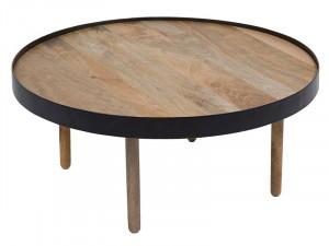 Masa din lemn de mango si fier 72 cm Onlong Santiago Pons