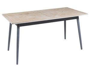 Masa dining din lemn de pin si MDF 80x160 cm Queens Santiago Pons