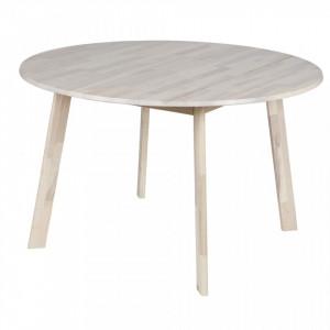 Masa dining maro din lemn de frasin 120 cm Camelot Woood