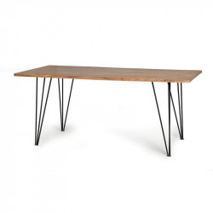 Masa dining maro din lemn de salcam si metal 90x180 cm Riva Giner y Colomer