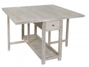 Masa extensibila din lemn 120x50(120) cm Folding Santiago Pons