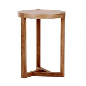 Masa maro din lemn pentru cafea 41 cm Brentwood Woodman