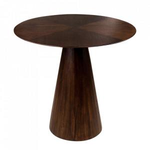 Masuta de cafea maro din lemn de mindi 70 cm Congo Versmissen