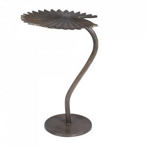 Masuta maro alama din aluminiu 32x33 cm Leela Dutchbone
