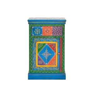 Noptiera multicolora din lemn Art Giner y Colomer