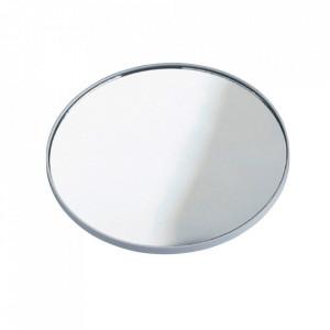 Oglinda cosmetica rotunda argintie din metal 12 cm Dana Wenko