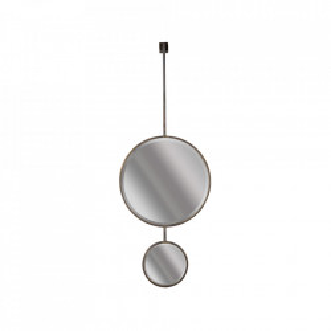 Oglinda din metal 40x108 cm Chain Be Pure Home