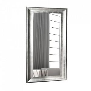 Oglinda dreptunghiulara argintie din lemn 80x180 cm Brillado Invicta Interior