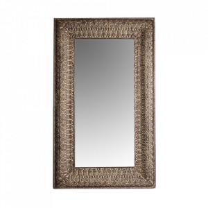 Oglinda dreptunghiulara gri din lemn 137x230 cm Kobu Vical Home