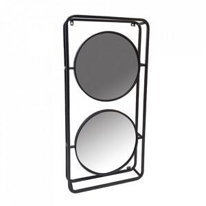 Oglinda ovala din fier 45x93 cm Double Santiago Pons