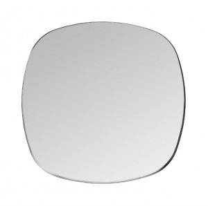 Oglinda patrata neagra din alama 90x90 cm Dobles Black Maxi Versmissen