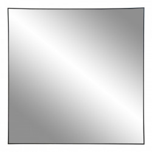 Oglinda patrata neagra din otel 60x60 cm Jersey House Nordic