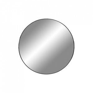 Oglinda rotunda neagra din otel 40 cm Jersey House Nordic