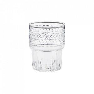 Pahar transparent din sticla 7x9 cm Favio Madam Stoltz