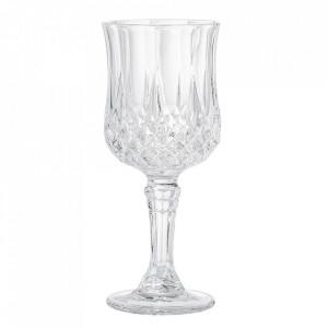 Pahar transparent din sticla pentru vin 230 ml Fenja Bloomingville