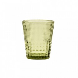 Pahar verde din sticla 320 ml Clear Glass Nordal