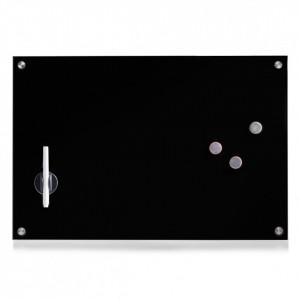 Panou memo negru din sticla 40x60 cm Berry Zeller