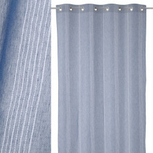 Perdea albastru inchis din poliester 140x260 cm Flat Unimasa
