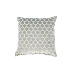Perna decorativa albastra 45x45 cm Monty Light Blue Zuiver