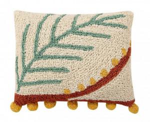 Perna decorativa dreptunghiulara multicolora din bumbac 38x48 cm Palm Lorena Canals