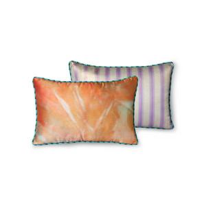 Perna decorativa dreptunghiulara multicolora din poliester 25x40 cm Doris HK Living