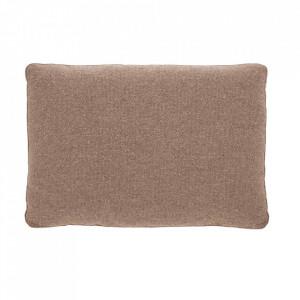 Perna decorativa dreptunghiulara roz din textil 50x70 cm Block La Forma